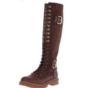 Penny Loves Kenny // Alee Lace Up Boots //Size 9